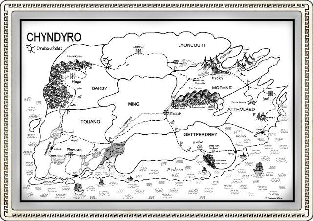 A5 liggend Kaart Chyndyro 225